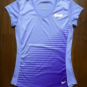 Women's Nike running reflective shirt
